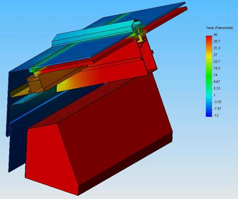 Sample 3-Dimensional Steady State Thermal Analysis